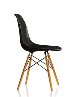 VITRA EAMES DSW STOLE, SORT