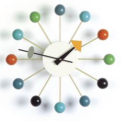 VITRA NELSON BALL CLOCK  MULTIFARVET