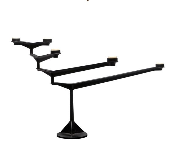 DIXON SPIN TABLE CANDELABRA LYSESTAGE