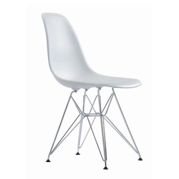 hvide stole VITRA EAMES DSR STOLE, HVID hvide stole