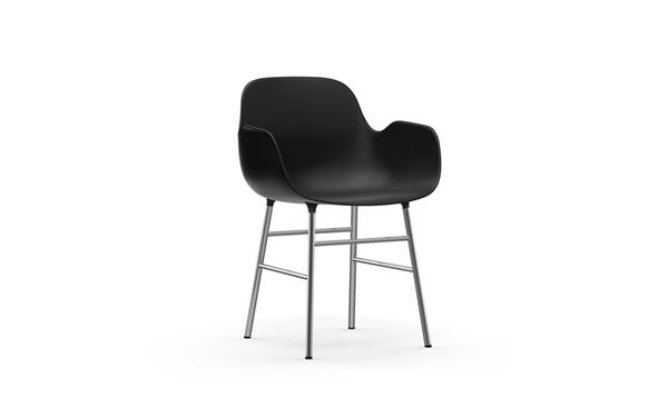 FORM ARMCHAIR CHROME NORMANN COPENHAGEN