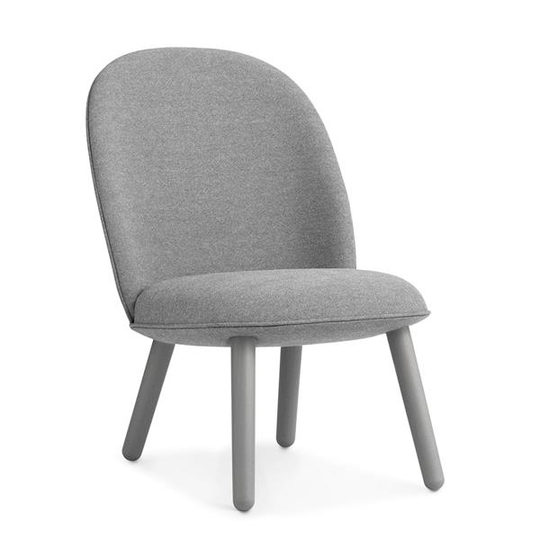 NORMANN COPENHAGEN ACE LOUNGE CHAIR NIST GREY