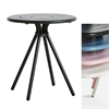 Ray Round Cafe Table WOUD